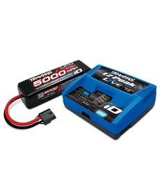 Traxxas 2996X Paquete completo de batería / cargador (incluye cargador iD # 2971 (1), # 2889X 5000mAh 14.8V 4-cell 25C LiPo battery (1))