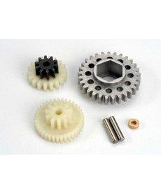 Traxxas 4576 Gear set/ gear shafts