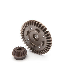 Traxxas 8977 Ring gear, differential/ pinion gear, differential (rear)