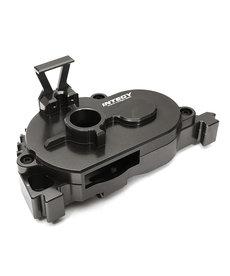 Integy C28847GREY Cubierta de engranaje de montaje de motor fijo mecanizada en palanquilla para Arrma 1/10 Granite 4X4 3S BLX