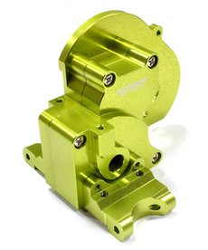Integy T7983GREEN Alloy Gearbox Housing for Traxxas 1/10 Stampede 2WD, Rustler 2WD & Bandit XL5