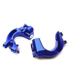 Integy C28866BLUE Bloques de ruedas mecanizados Billet para Arrma 1/10 Granite 4X4 3S BLX