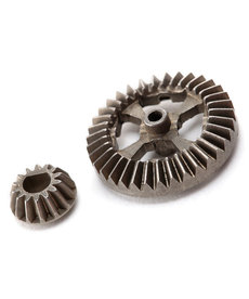 Traxxas 7683 Ring gear, differential/ pinion gear, differential (metal)