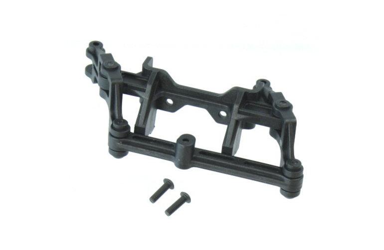 Redcat Racing BS810-081  V2 Steering rack assembly (includes rack, bell cranks, & servo mount; assembled)