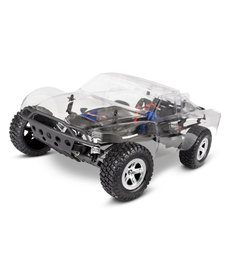 Traxxas 58014-4  RC Slash 2WD Electric Brushed Unassembled Kit 1/10 Scale Short Course Racing Truck with clear body TQ 2.4GHz XL-5 ESC