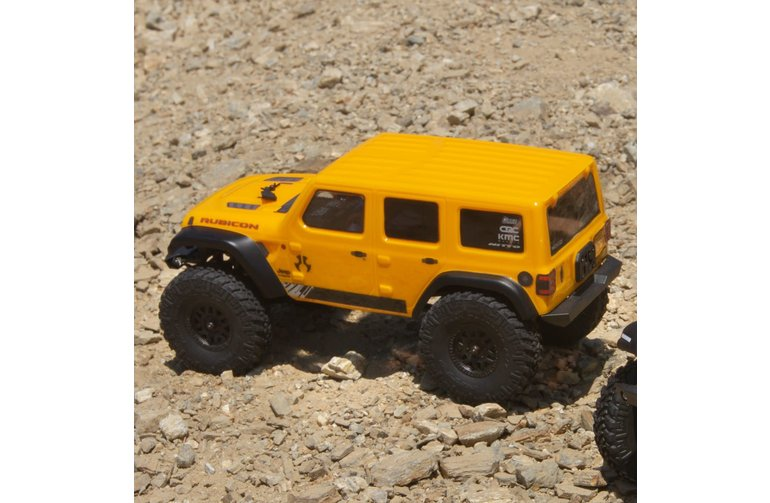 Axial AXI00002T2 SCX24 Electric RC 2019 Jeep Wrangler JLU CRC 1/24 4WD RTR Yellow