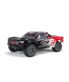 Arrma ARA4303V3T2  SENTON 4X4 RC Electric Short Course Truck 3S BLX Brushless 1/10th 4wd SC Red