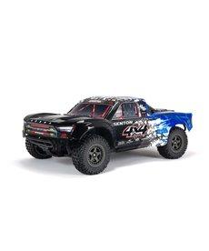 Arrma ARA4303V3T1 SENTON Camión de recorrido corto RC 4X4 3S BLX Sin escobillas 1/10th 4wd SC Azul