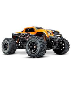 Traxxas 77086-4-ORNGX Camión monstruo eléctrico sin escobillas X-Maxx naranja con sistema de radio TQi de 2,4 GHz y TSM