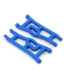 RPM 70665 RPM Brazos en A delanteros anchos (2), Azul; Estampida de cuatreros de Traxxas