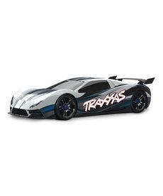 Traxxas 64077-3-WHT XO-1 1/7 Scale AWD Supercar con sistema de radio TQi 2.4GHz Módulo inalámbrico Traxxas Link TSM