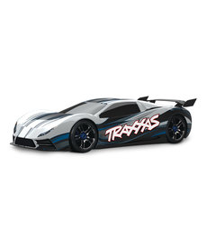 Traxxas 64077-3-WHT  XO-1 1/7 Scale AWD Supercar with TQi 2.4GHz Radio System Traxxas Link  Wireless Module TSM