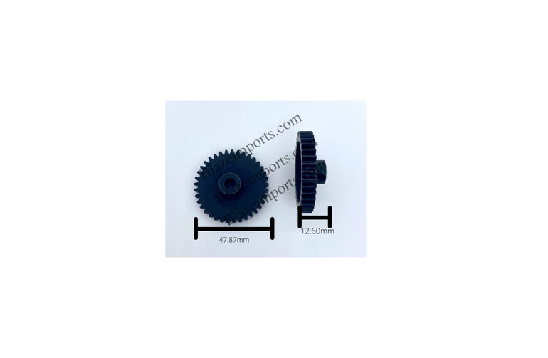 Sa Ga 5mm Shaft 46t  Mod 1 Pinion Gear