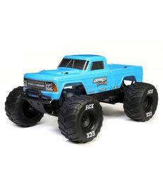 ECX ECX03048T1 Camión monstruo eléctrico AMP CRUSH cepillado 2WD Azul RTR 1/10