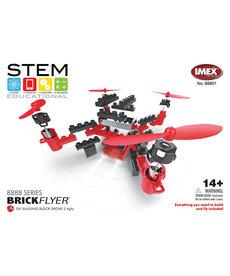 Imex Yellow IMEX DIY BrickFlyer Building Block Quadcopter Drone