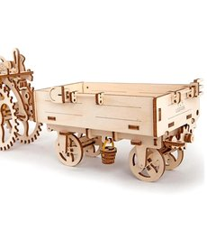 UGears 70006 UGears Trailer Wooden 3D Model (for Tractor)