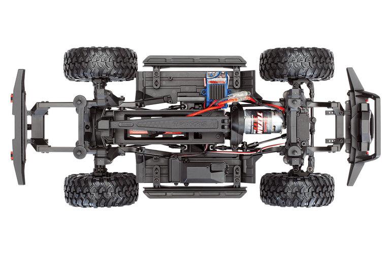 Traxxas 82024-4-BLUE TRX 4 Sport 4WD 1/10 Crawler Electric Truck with TQ 2.4GHz Radio System