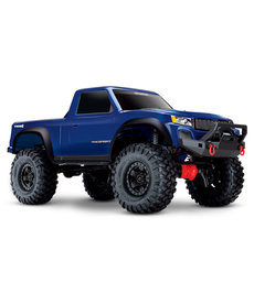 Traxxas 82024-4-BLUE TRX-4 Sport: Camión eléctrico 4WD con sistema de radio TQ 2.4GHz