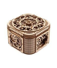 UGears 70031 UGears Treasure Box Wooden 3D Model
