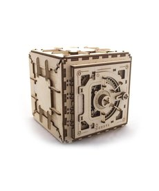 UGears 70011 UGears Safe Mechanical Wooden 3D Model