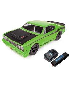 Team Associated DR10 RTR Electrico Combo de coche de carreras de arrastre sin escobillas (Verde)