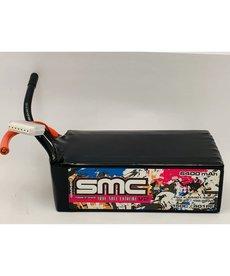 SMC 64401-6S2P True Spec Extreme Graphene V2 6s Lipo 22.2V-6400mAh-150C Softcase