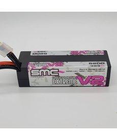 SMC 52383-4S1P True Spec Extreme Graphene V2 14.8V 5200mAh LCG 120C