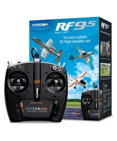 RealFlight Simulador de vuelo RealFlight 9.5 RC con controlador Interlink DX RF9.5