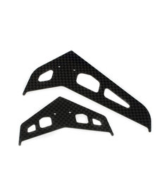 Blade BLH4530C Juego de puñaladas / aletas, fibra de carbono: 300 X