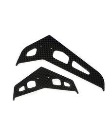 Blade BLH4530C Stab/Fin Set, Carbon Fiber: 300 X