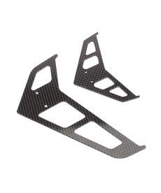 Blade Juego de aletas de fibra de carbono BLH1872C: B500 3D / X