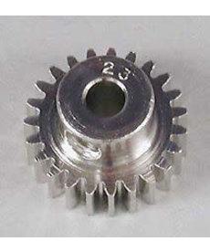Robinson Racing RRP1023 Engranaje de piñón de 48 pasos de acero niquelado, diámetro 23T 1/8