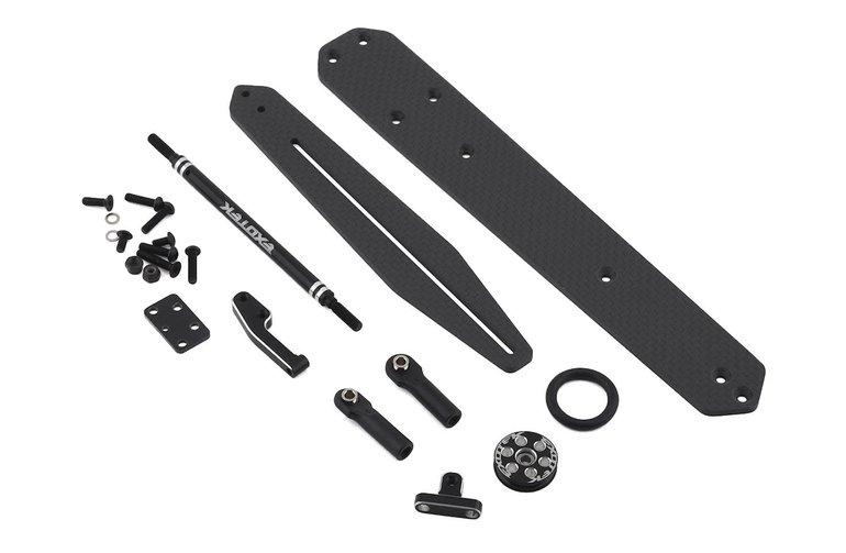 Exotek EXO1961 (1961) Exotek TLR 22 Carbon Fiber Adjustable Wheelie Bar Set