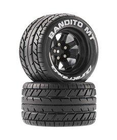Duratrax DTXC5250 Tires Bandito MT 2.8 Mounted Black 14mm Hex (2)