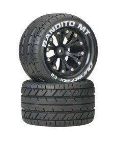 "DTX DTXC3502 Bandito MT 2.8"" 2WD Mounted Rear C2 Black (2)"