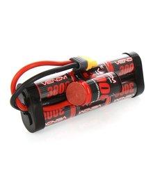 Venom Racing VNR1532-7 DRIVE 8.4V 3000mAh NiMH Hump Pack Battery with UNI 2.0 Plug