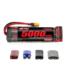 Venom Racing VNR1527-7  DRIVE 8.4V 5000mAh Batería de paquete plano NiMH con enchufe UNI 2.0