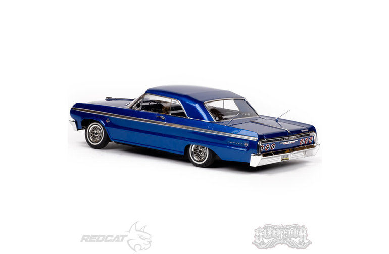Redcat Racing RER13526 Blue SixtyFour 1/10 Electric Fully Functional Hopping Lowrider