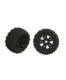 ARA Dboots 'Copperhead2 SB MT' Tire Set Glued (1 Pair)