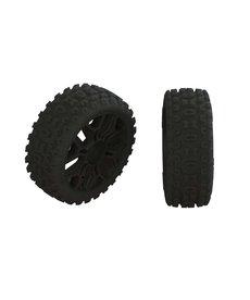 ARA AR550057 2HO Tire Set Glued Black (2)