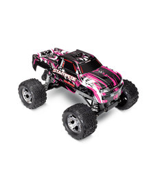 Traxxas 36054-1-PINKX Stampede®: 1/10 Scale Monster Truck. Ready-to-Race® with TQ 2.4GHz radio system and XL-5 ESC (fwd/rev). Includes: 7-Cell NiMH 3000mAh Traxxas® battery