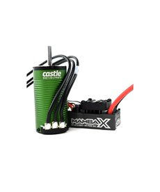 Castle Creations CSE010-0160-01 Castle Creations Mamba X SCT 1/10 Brushless Combo w/1415 Sensored Motor