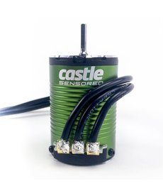 Castle Creations CSE010-0164-05 Castle Creations Sidewinder SW4 Impermeable 1/10 ESC / Motor Combo w / 1410 (3800kV)