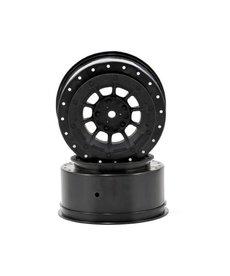 JCO 3344B Hazard 12mm Hex Wheel, 3mm Wider Off Set:SC10