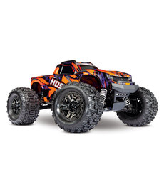 Traxxas 90076-4-ORNG Hoss™ 4X4 VXL: 1/10 Scale Monster Truck with TQi Traxxas Link™ Enabled 2.4GHz Radio System & Traxxas Stability Management (TSM)®