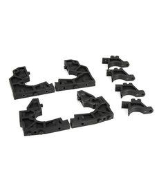 LOSI LOS251016 Front/Rear, Bulkhead Set: 1:5 4wd DB XL