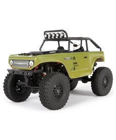 Axial SCX24 Deadbolt Escala 1/24 Elec 4WD - RTR, Verde