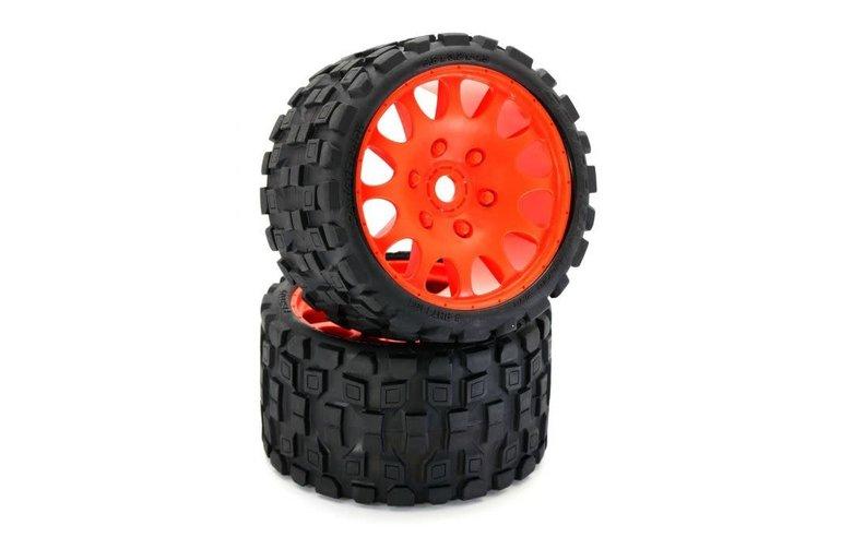Power Hobby Powerhobby Scorpion Belted Monster Truck Tires / Wheels w
