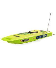 PRB RC Boat Miss GEICO Zelos 36 Twin Brushless Catamaran: RTR