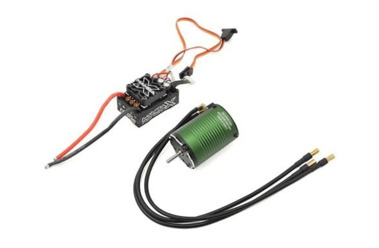 Castle Creations CSE010-0155-02  Castle Creations Mamba X 1/10 Brushless Combo w/1406 Sensored Motor